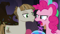"Pinkie Pie angry ""let's ask her!"" S8E3"