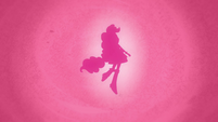 Pinkie Pie transformation silhouette EG