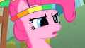 Pinkie Pie wearing her parasol headgear S1E15.png