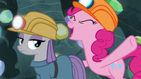 """Pinkie Pie yelling """"all right!"""" S7E4"""