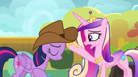 "Princess Cadance ""you're already a good princess"" S7E22"