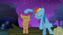 Rainbow 'unless somepony's shaking' S3E06