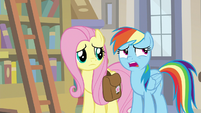 "Rainbow Dash ""we're a little late to warn you"" S9E21"