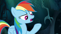 Rainbow Dash -you won't ever do anything- S6E11