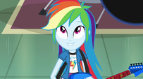 "Rainbow Dash singing ""the future's looking up"" EG2"