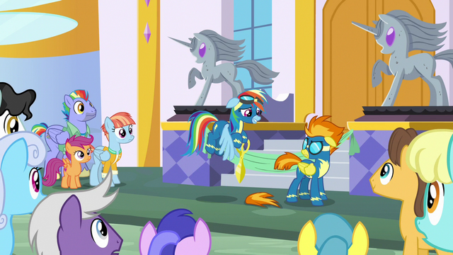 File:Rainbow accidentally cuts off a piece of Spitfire's tail S7E7.png