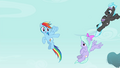 Rainbow tells other Pegasi to fly back S4E16.png