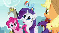 Rarity --it's already happened-- S5E22