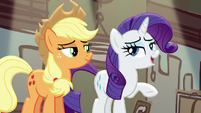 Rarity -it was just a few costumes- S5E16