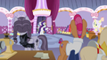 Rarity and contest judges return to the sewing room S7E9.png