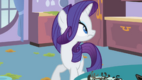 Rarity looking behind S2E05