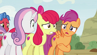 "Scootaloo ""got turned into grown-ups!"" S9E22"