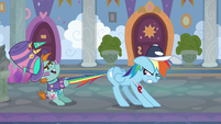 Snips stops Rainbow Dash from leaving S9E15