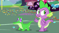 Spike -let me try something- S8E18