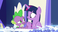 Spike -what can we do to help-- S7E25