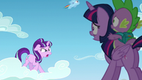 Starlight --is that important!--; filly Rainbow passes by S5E26
