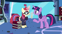 "Twilight ""have dinner with our old friends tonight"" S5E12"
