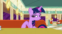 Twilight --it's natural that Rarity would be-- S6E9