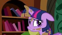 Twilight unsure -the castle's fine- S5E3