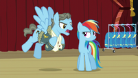 """Wind Rider """"to protect my record!"""" S5E15"""