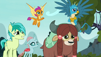 Young five smiling at Silverstream S8E2