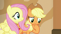 Applejack thinking for a moment S6E20