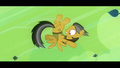 Daring Do pushed away by Ahuizolt's roar S4E04.png