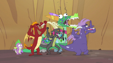 Dragons cheering 2 S2E21