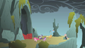 Fluttershy's unexpected appearance 2 S01E07.png