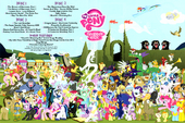 MLP Season 2 DVD inside Poster