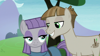 Maud and Mudbriar smiling at each other S8E3