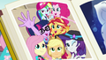 Photo of Mane Seven in the yearbook EGFF.png