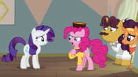 """Pinkie """"trying to fix it after you ruined it!"""" S6E12"""