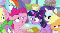 "Pinkie Pie ""mission accomplished!"" S9E25"