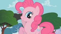 Pinkie Pie planning a celebration for Rainbow Dash S1E07