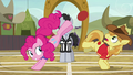 Pinkie Pie wins the last buckoff S6E18.png