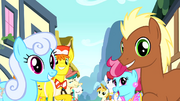 Ponies singing about Pinkie Pie S4E12
