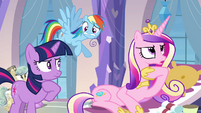 "Princess Cadance ""just a small detail"" S03E12"