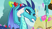 "Princess Ember ""do you have a stomachache?"" S7E15"