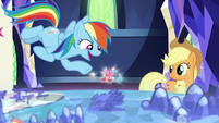 "Rainbow Dash ""it's like a super-villain tracker!"" S7E26"