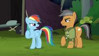 "Rainbow Dash ""just follow me"" S6E13"
