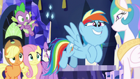"Rainbow Dash ""than follow us around"" S9E13"