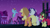 Rainbow Dash --have you guys noticed-- S6E15