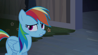 Rainbow Dash -like a ghost-- S4E03