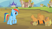 Rainbow Dash bad day S2E8