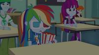 Rainbow Dash dozes off to sleep EGDS22