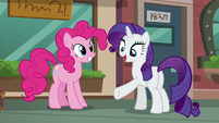 Rarity --Why not sight-see on a path that leads right to the pouch store--- S6E3