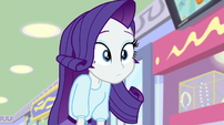 Rarity hears an announcer voice EGS1