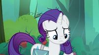 Rarity notices her messy mane S8E13