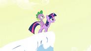 S01E11 Twilight i Spike na wzgórzu